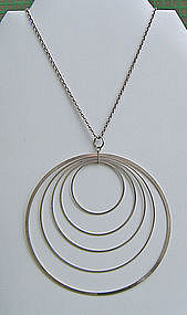 Tapio Wirkkala Kinetic Pendant  Necklace - Finland