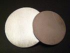 Betty Cooke Modernist Sterling Disc Brooch Pendant