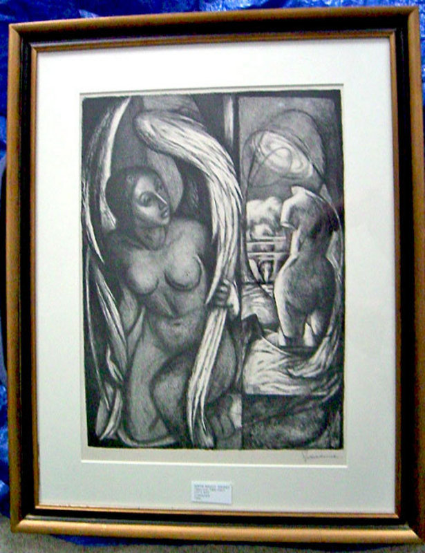 Benton Spruance Lithograph - Lot's Wife 1948 ed.35