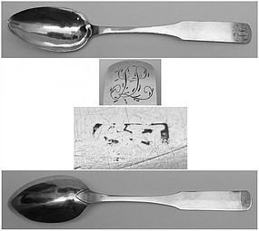 Rare Lancaster, PA Tablespoon by George Haverstick