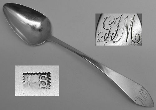Solve this Ca. 1790-1810 Mark & Win a Spoon or $15 Off Your Next Order