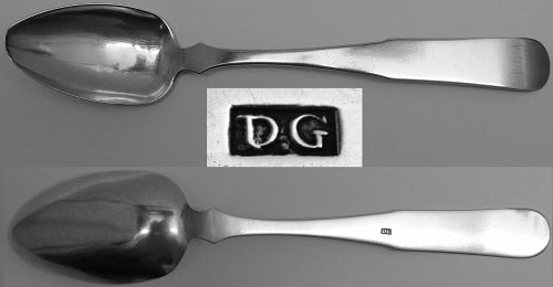 Not For Sale - Solve this Mystery Mark and Win a Coin Silver Spoon!