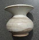 Chinese Liao dynasty cream glaze zhadoa