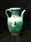 Chinese green glaze ewer