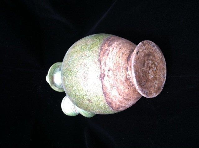 Liao dynasty green glaze pottery water pot