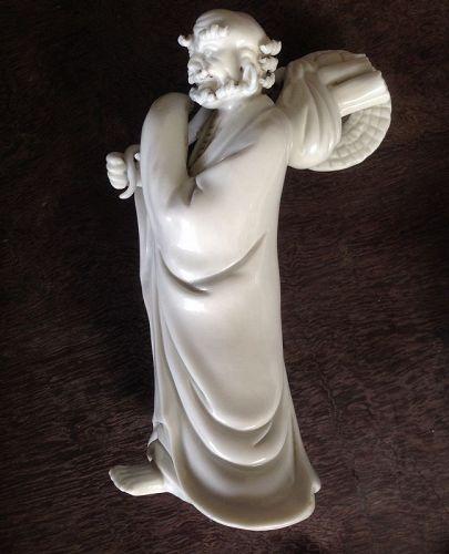 A Chinese Dehua Ta Moh figurine