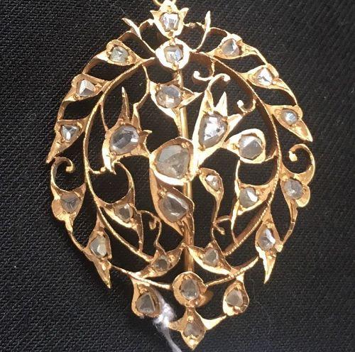 Peranakan Nyonya Baba Intan brooch