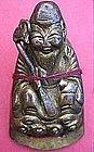 Chinese Gilt Immortal Figurine of Longevity