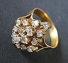 Straits Nyonya Intan Diamond Ring