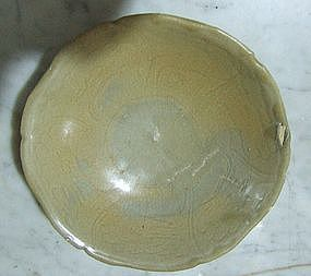 Northern Sung Flora Pattern Dish Saucer