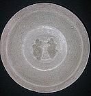 Sung Twin Fish Celadon Plate