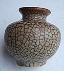 Sung Style Ge Yao Small Jar