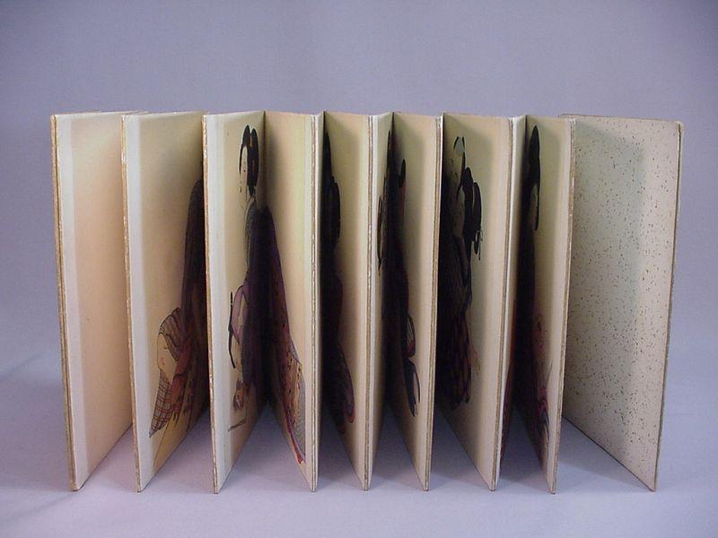 Japanese Shunga Accordian-fold Book