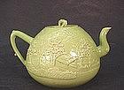 CHINESE PORCELAIN TEA POT