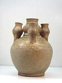 Chinese Han Dynasty 5-Spout Vase