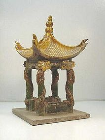 Chinese Ming Dynasty Burial Pavilion