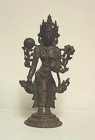 Indian Bronze Tara