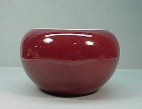 Chinese Qing Dynasty Sang de Boeuf Bowl