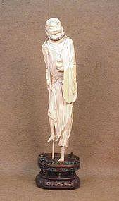 Chinese Ivory Statue