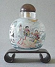 CHINESE INSIDE PAINTING SNUFF BOTTLE