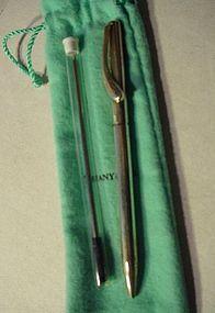 Peretti Sterling Ballpoint Pen ~ Tiffany & Co.