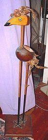 Folk Art ~ Australian Cassowary Statue