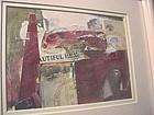 Collage~  Riva Leviten  (1928-2014)