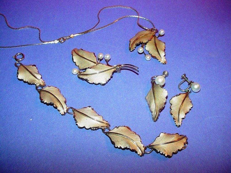 LORAN SIM 12KGF Gold Leaf Pearl Set
