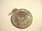 14k Copenhagen Commemorative Coin Charm~ Henrik Munck Hansen
