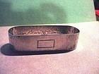 Watson  Arts + Crafts Sterling Napkin Ring