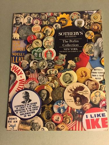 Sotheby's Political Memorabilia ~ The Perlin Collection ~12/91