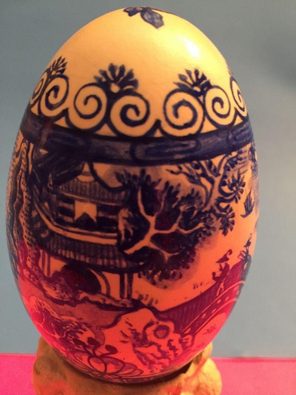 Robert Tolar Hand Painted Egg