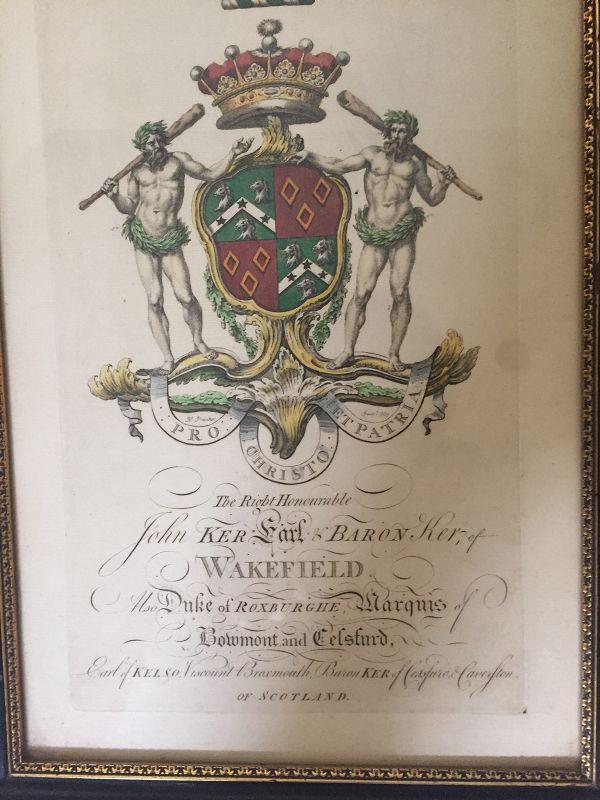 WAKEFIELD Heraldic Print