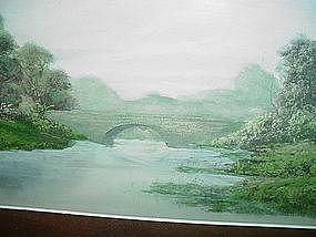 Late 19thC Landscape Watercolor~ T. Swinburne