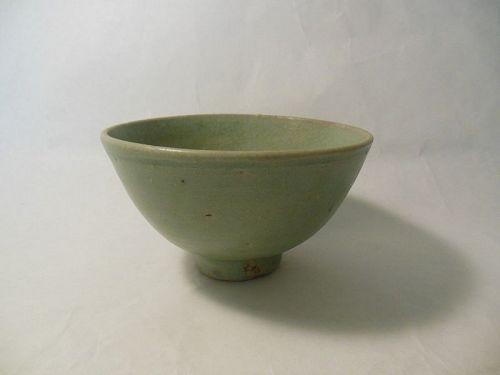 Green Celadon Song Dynasty Bowl