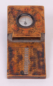Antique Chinese Geomancy Compass