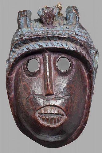 Antique Indian Mask of Hanuman