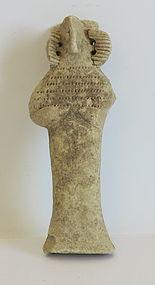 A SYRO-HITTITE TERRACOTTA FERTILITY GODDESS