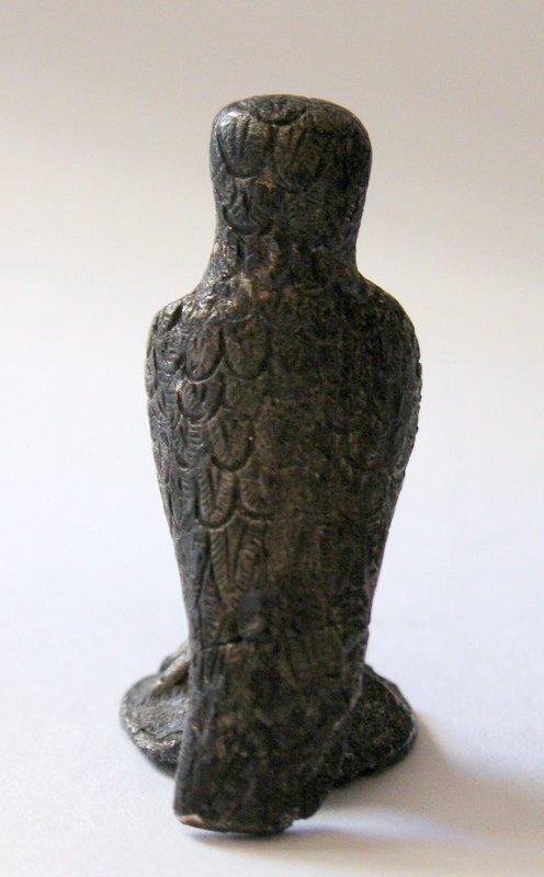 A SILVER ROMAN EAGLE- VERY RARE.