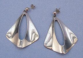 N.E. From Sterling Earrings