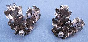 Albino Manca Handmade Sterling Earrings