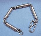Sterling Bracelet of Tube Links