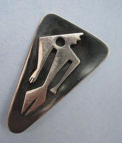 Ed Wiener Handmade Sterling Pin