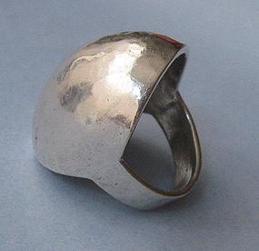 Sterling Domed Ring