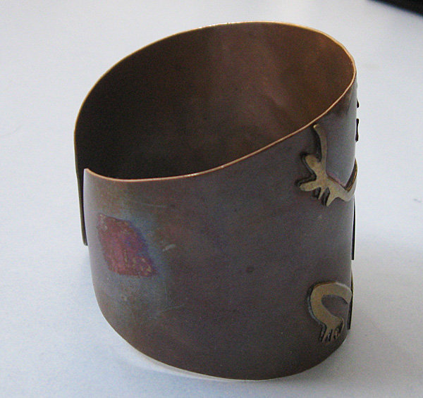 Mexican Mixed-Metal Cuff