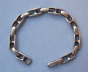 Italian Sterling Link Bracelet