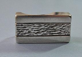 Israeli Handmade Sterling Ring, c. 1970
