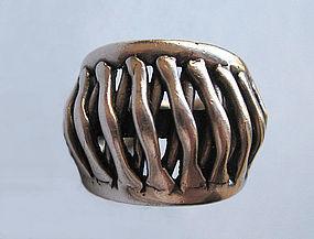 Norwegian Sterling Ring by Hughes