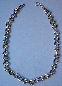Handmade Sterling Necklace