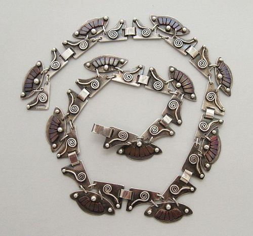 Handmade Mixed Metal Necklace